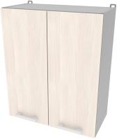 Шкаф навесной для кухни Интерлиния Компо ВШ60-720-2дв (вудлайн кремовый) -