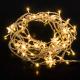 Светодиодная бахрома Евросвет 100-002  (теплый белый) -