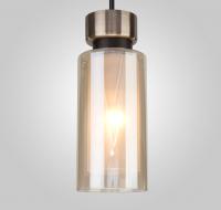 Потолочный светильник Евросвет Amado 50115/1 (черный) -