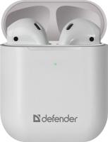 Наушники-гарнитура Defender Twins 631 / 63631 (белый) -