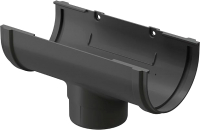 Воронка водостока Docke Premium 120мм (графит) -