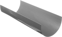Желоб водостока Docke Premium 120.65мм (3м, графит) -