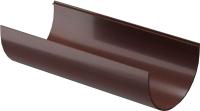 Желоб водостока Docke Premium 120.65мм (3м, шоколад) -