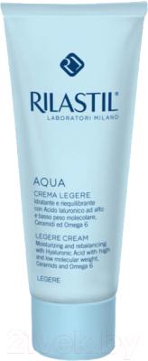 Крем для лица Rilastil Aqua Лежер увлажняющий и восстанавливающий баланс
