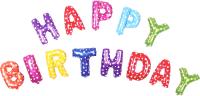 Набор воздушных шаров Darvish Happy Birthday / DV-H-1028 -