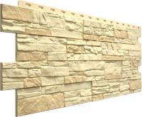 Фасадная панель Docke Stein Янтарный (426x1196) -
