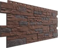 Фасадная панель Docke Stein Темный орех (426x1196) -