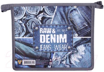 Папка для тетрадей Пчелка Raw&Denim / ПМ-А5-29