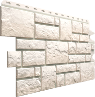 Фасадная панель Docke Burg Белый (472x1072) -