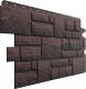 Фасадная панель Docke Burg Темный (472x1072) -