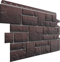 Фасадная панель Docke Burg Земляной (472x1072) -