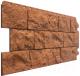 Фасадная панель Docke Fels Терракотовый (450x1150) -
