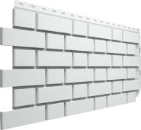 Фасадная панель Docke Flemish Белый (443x1183) -