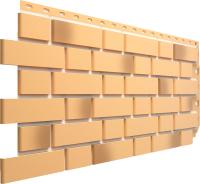 Фасадная панель Docke Flemish Желтый жженый (443x1183) -