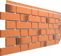 Фасадная панель Docke Flemish Красный жженый (443x1183) -