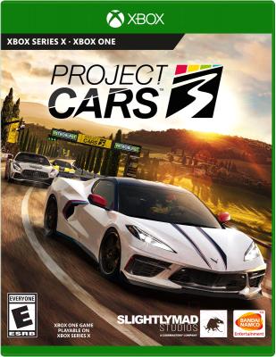 Игра для игровой консоли Microsoft Xbox One Project CARS 3