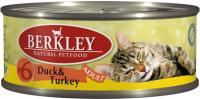 Корм для кошек Berkley Утка с индейкой (100г) -