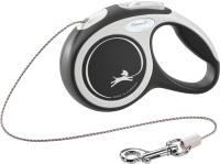 Поводок-рулетка Flexi New Comfort XS 3м (трос черный) -