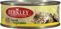 Корм для кошек Berkley Tунец с овощами (100г) -