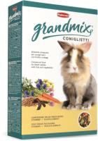 Корм для грызунов Padovan GRANDMIX Coniglietti для кроликов (850г) -
