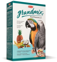 Корм для птиц Padovan GRANDMIX Pappagalli для крупных попугаев (600г) -