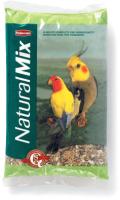 Корм для птиц Padovan NATURALMIX Parrocchetti для средних попугаев (850г) -
