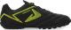 Бутсы футбольные Demix OM8FTR36AT / 106342-BU (р-р 35, черный/зеленый) -
