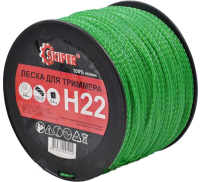 Леска для триммера Skiper H22 (зеленый) -