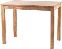 Обеденный стол Drewood Сигизмунд 100х60 / СИ.001.200.000.00 (кастел браун) -