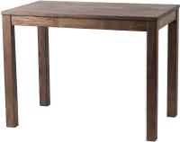 Обеденный стол Drewood Сигизмунд 100х60 / СИ.001.300.000.00 (шаркол) -