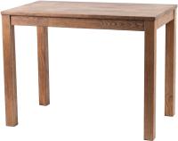 Обеденный стол Drewood Сигизмунд 100x60 / СИ.001.400.000.00 (шоколад) -