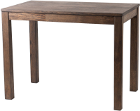 Обеденный стол Drewood Сигизмунд 120x70 / СИ.002.300.000.00 (шаркол) -