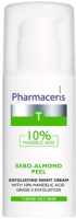 Крем для лица Pharmaceris T Sebo-Almond Peel 10% ночной (50мл) -