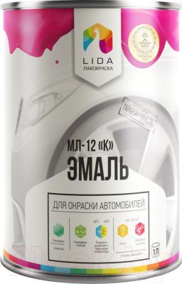 Эмаль автомобильная Lida МЛ-12 К