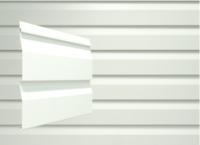 Сайдинг Docke Dacha Белый (2700х203) -