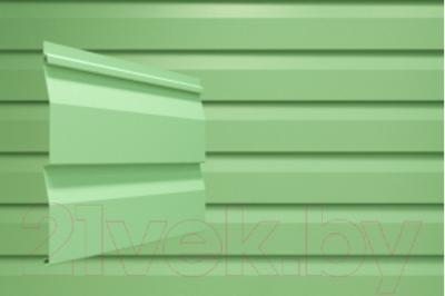 Сайдинг Docke Dacha Светло-зеленый (2700х203)
