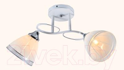 Потолочный светильник Mirastyle MX-5085/2 A WH+CR