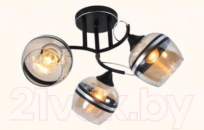 Люстра Mirastyle MX-5087/3 B BK+CR