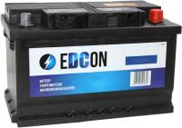 Автомобильный аккумулятор Edcon DC80760R (80 А/ч) -