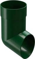 Колено для водостока Docke Dacha 80мм (зеленый) -