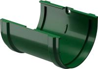 Соединитель желобов Docke Dacha 120мм (зеленый) -