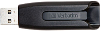 Usb flash накопитель Verbatim Store 'n' Go V3 16GB / 49172 (черный/серый) -