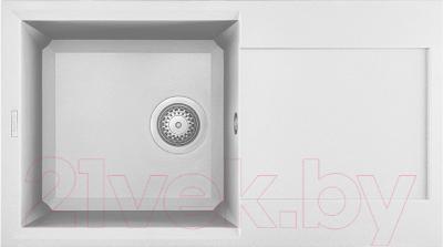Мойка кухонная Elleci Easy 290 Bianco Titano G68 / LGY29068