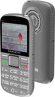 Мобильный телефон Maxvi B5 (серый) -