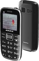 Мобильный телефон Maxvi B6 (черный) -