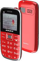 Мобильный телефон Maxvi B6 (красный) -