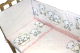 Простыня детская Баю-Бай Ми-ми Мишки / ПР11-ММ1 (розовый) -