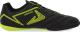 Бутсы футбольные Demix BLCI4E3IFF / 106340-BU (р-р 35, черный/зеленый) -