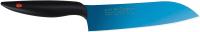 Нож Kasumi Titanium Chef 22018/B (синий) -