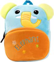 Детский рюкзак Sun Eight Слон / SE-sp007-03 (голубой/оранжевый) -